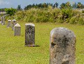 Stone Nautical Mile Markers