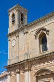 Mother church of Transfiguration. Taurisano. Puglia. Italy.