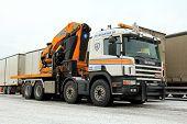 Scania G420 Mobile Crane