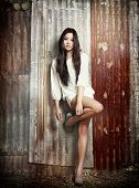 pic of provocative  - Beautiful young exotic Asian woman - JPG