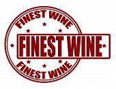 Finest wine