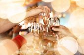 stock photo of sparkling wine  - Celebration - JPG