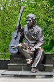 Постер, плакат: Monument Of Vladimir Vysotsky Kaliningrad Russia