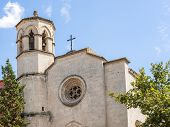 Old Catholic Church In Vilafranca Del Penedes, Spain