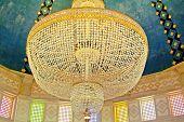 Chandelier In Mausoleum Of Habib Bourgiba, Monastir, Tunisia