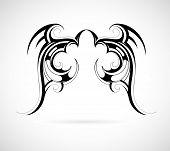 Tribal Art Wings