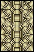 Art Deco Metallic pattern