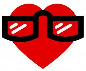 Geek in love icon