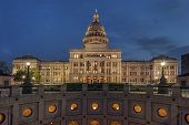 State Capitol of Texas at Night
