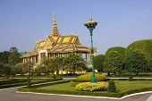 Entrance To The Royal Palace In Phnom Penh