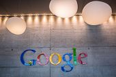 ZURICH, SWITZERLAND - MARCH  14, 2014: Google Corporation Reception