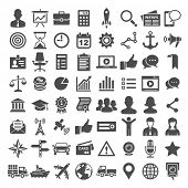 stock photo of transportation icons  - Universal Icons - JPG