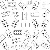 Seamless domino background