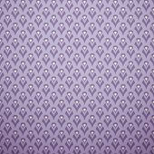 Lilac vector seamless pattern (with square swatch). Endless text