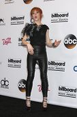 LAS VEGAS - MAY 18:  Lindsey Stirling at the 2014 Billboard Awards at MGM Grand Garden Arena on May
