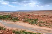 View From Casbah Ait Benhaddou