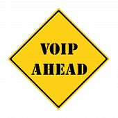 Voip Ahead Sign