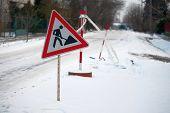 Winter Roadwork