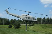 Huey Helicopter UH-1D at  Vietnam War Memorial