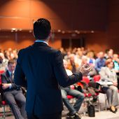 picture of speaker  - Speaker at Business Conference and Presentation - JPG