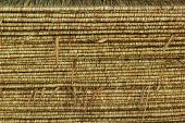 Pattern Of Thatch Roof