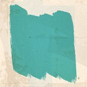 Grungy Green Paint Strokes