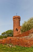 North-east Tower Of Schwetz Castle (1350). Swiecie, Poland