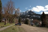 Residential Street In Ouray