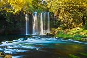 Waterfall Duden at Antalya Turkey - nature travel background