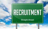Recruitment on Highway Signpost.