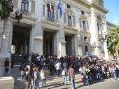 Education Strike In Italy
