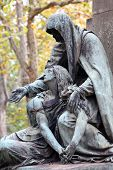 Statue in Kerepesi Cemetery