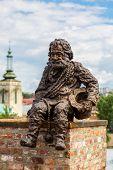 Sculpture A Chimney  In Lviv, Ukraine
