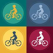 Biker Stencil