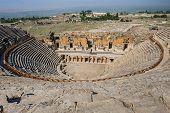 Ancient amphitheater in Hierapolis