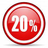 20 percent web icon