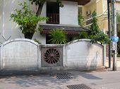 Garden wall, Pattaya