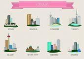 City symbol. Canada