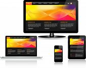 Responsive Web Template