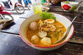 Noodle Hot And Sour Soup