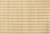 Bamboo Straw Background Top View