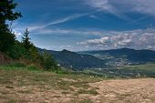 Polish Pieniny Mountains