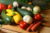 Raw Organic Vegetable