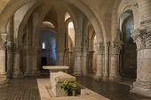 Crypt In Church In Saintes France