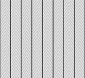 White And Black Zigzag Textured Fabric Pattern Background