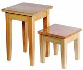 Two Rustic Stools