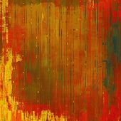 Old background or texture. With different color patterns: yellow, brown, red, orange, green