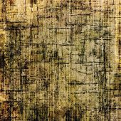 Old background or texture. With different color patterns: yellow, brown, gray, black