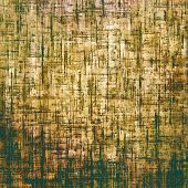 Art grunge vintage textured background. With different color patterns: yellow, brown, gray, green