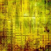 Art grunge vintage textured background. With different color patterns: yellow, brown, green